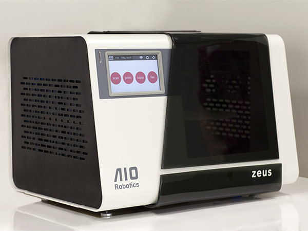 zeus all in one 3d printer by aio robotics
