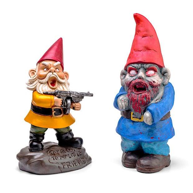 Zombie Garden Gnomes Aren't as Creepy as Normal Garden Gnomes - Technabob