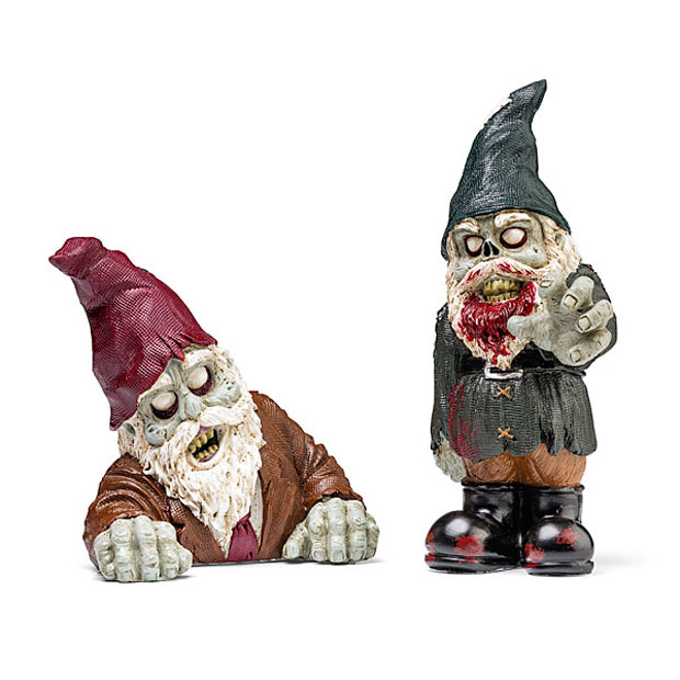 Zombie Garden Gnomes Aren T As Creepy As Normal Garden Gnomes