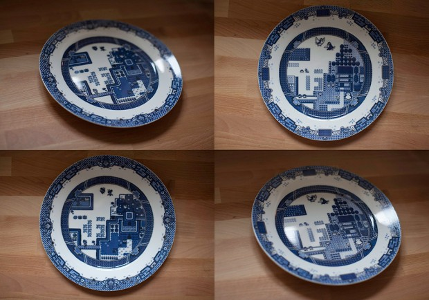 8 bit willow plates by olly moss 3 620x434