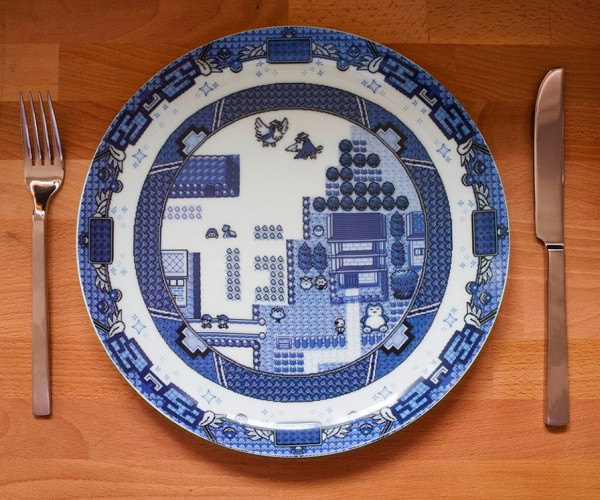 8-bit Willow Plates: Fine Gaming