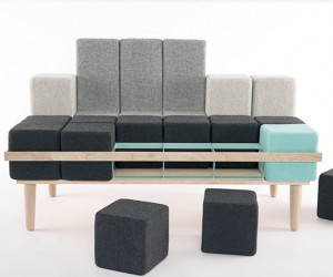 Bloc'd Sofa Turns into Whatever Furniture You Need It To Be