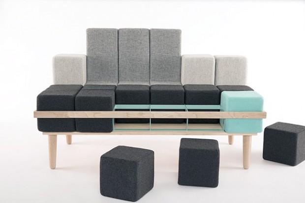 Bloc'd Sofa