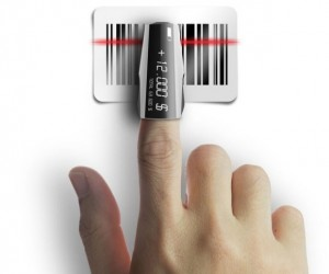 Finger Scanner Concept: The Most Compact Barcode Scanner Ever