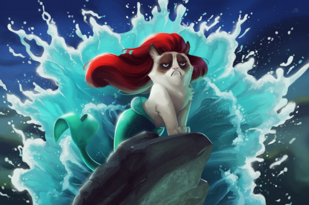 Grumpy Cat Art 620x412