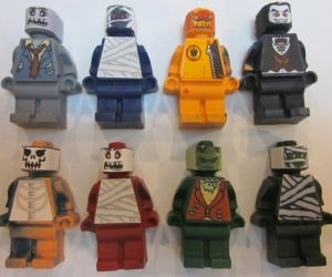 LEGO Halloween Monster Minifig Crayons: Happy LEGOween!