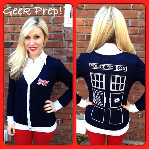 TARDIS cardigan
