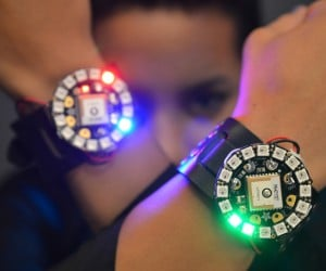 Adafruit DIY LED Watch: Pixel O'clock
