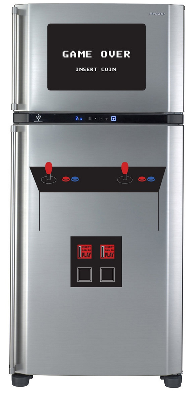 arcade fridge
