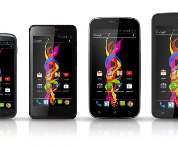 Archos Unveils Low-Cost, Unlocked Android Titanium Smartphones