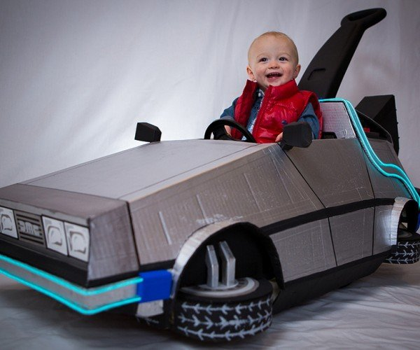 Back to the Future DeLorean Kid's Push Car: 1.21 Gigaawwww