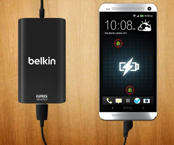 Belkin Skorpion Charges Your Phone's Batteries, Hunts Down Malware Too
