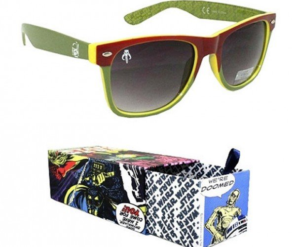 Boba Fett Green Sunglasses Good for Sunny Days on Tatooine