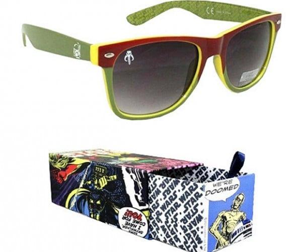 Boba Fett Green Sunglasses Good for Sunny Days on Tatooine