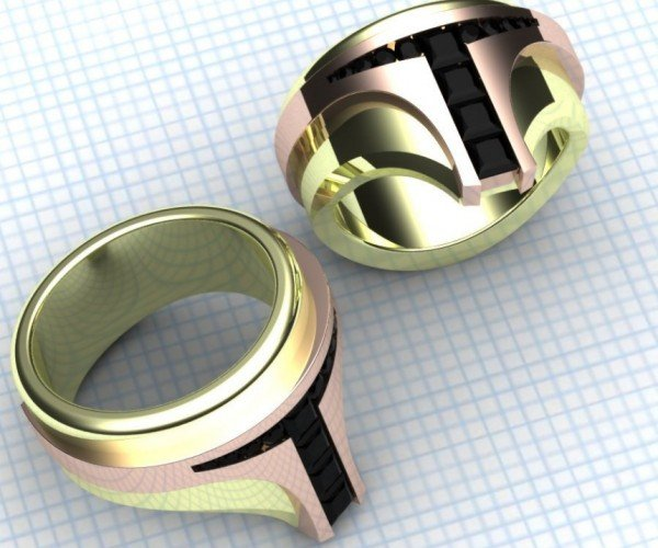 Boba Fett Bounty Hunter Rings: These Rings Rule Them All