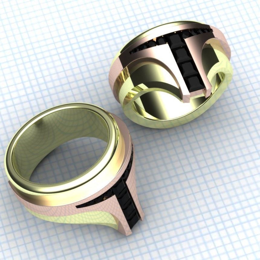 Boba Fett Bounty Hunter Rings: These Rings Rule Them All - Technabob