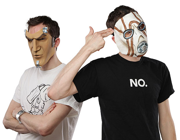 Borderlands Masks Are Perfect for Gamer Geek Halloween Costumes