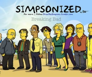 The Cast of 'Breaking Bad' Gets Simpsonized