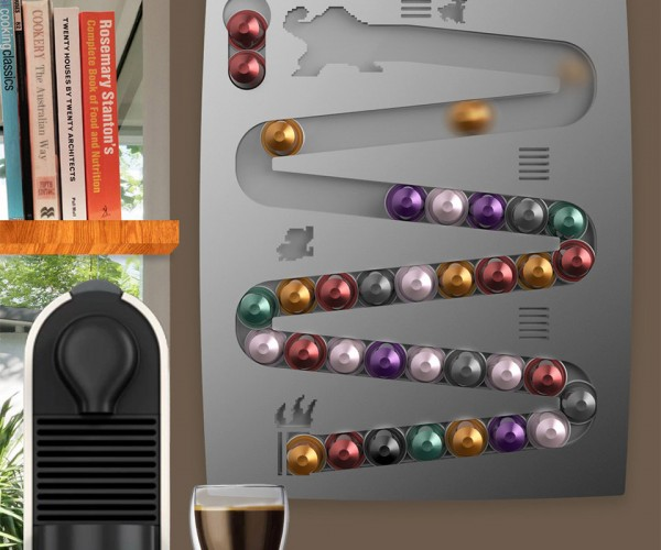 Capsulekong Turns Your Coffee into a Game of Donkey Kong
