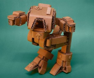 Cardboard Robots: Paper Beats Metal