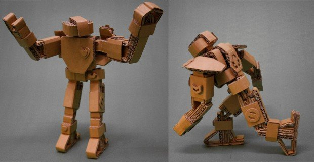 How To Make Robot Paper Craft