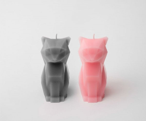 Cat Candles Reveal Gory Skeleton Insides as They Melt