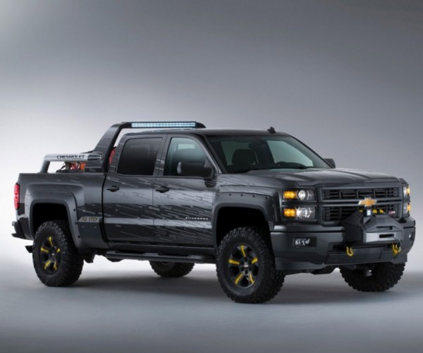 Chevrolet Silverado Black Ops Concept: The Truck for The Zombiepocalyps
