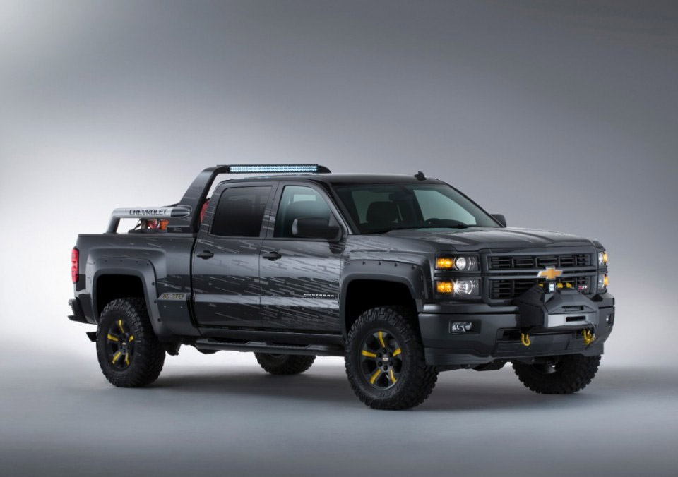 Chevrolet Silverado Black Ops Concept: The Truck for The ...