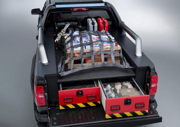 Chevrolet Silverado Black Ops Concept: The Truck for The Zombiepocalyps - Technabob