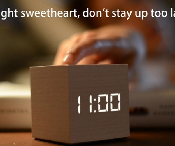 Clockee Talkee Alarm Clock & Walkie-Talkie: Wake Up, Copy That