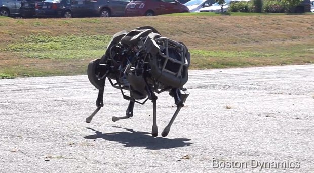 darpa wildcat cheetah legged robot