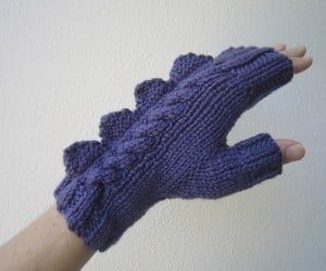 dragon dinosaur fingerless mittens by hotscones 4 300x250