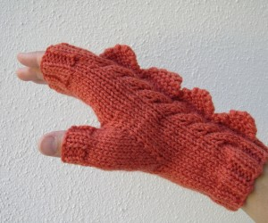 dragon dinosaur fingerless mittens by hotscones 5 300x250