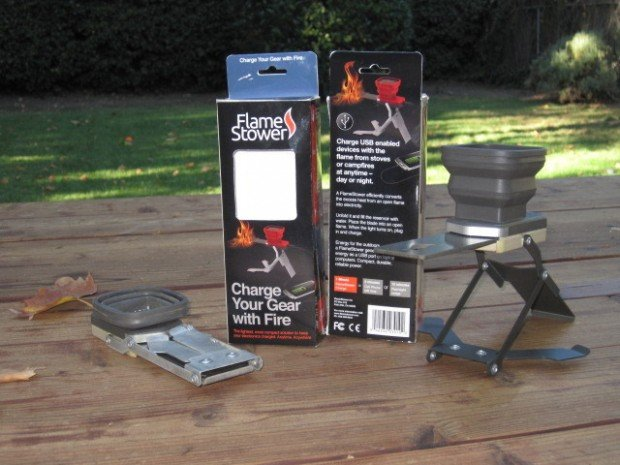 FlameStower Charges Your Gadgets with Fire