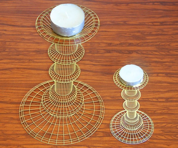 Flatlight Candle Holder: Is It 2D or 3D?