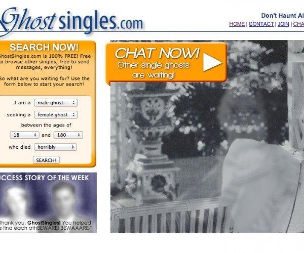 Ghost Singles: Find Love in the Afterlife