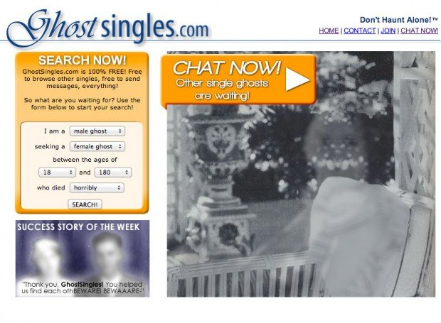 ghost singles website 620x455