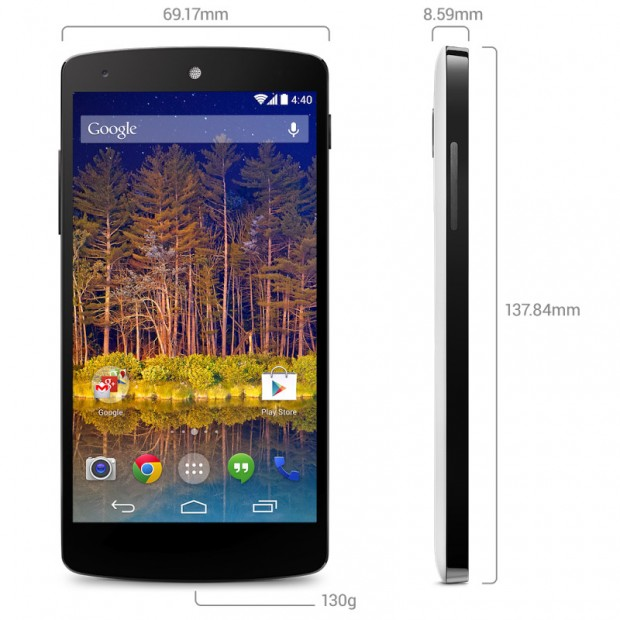 google nexus 5 dimensions 620x620