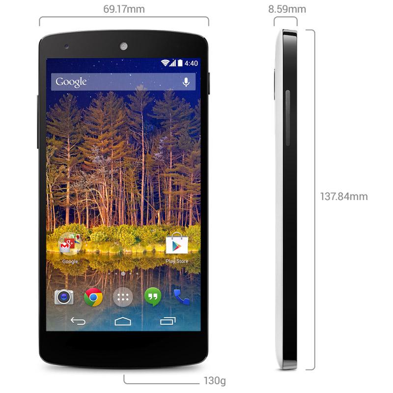 Google Nexus 5 Price, Release Date and Specs Announced ...