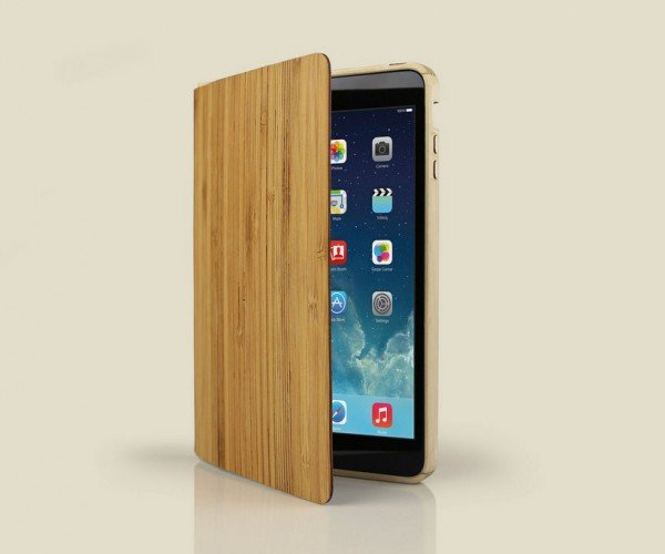 Grove Wood Smart Case for iPad Air & iPad Mini: More Wood Is Even More Good