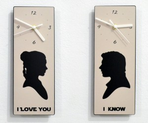 Princess Leia and Han Solo Declare Their Timeless Love with Clocks
