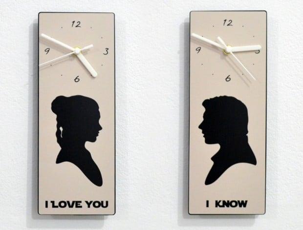 han leia clock