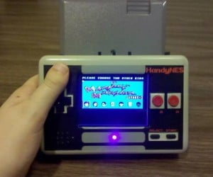 Portable NES Inspired by NES Controller: Game Boy Macro