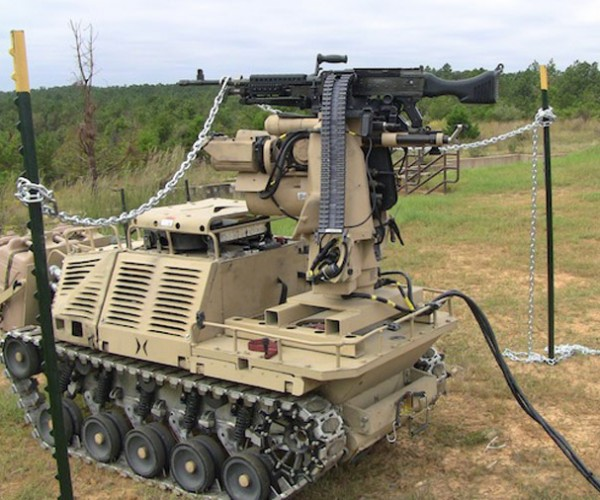 HDT Self-Driving Machine Gun: You Have 20 Seconds to Comply