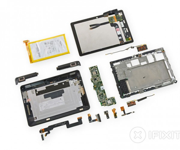 Kindle Fire HDX Teardown Shows off Its Tablety Innards, Plenty of Glue