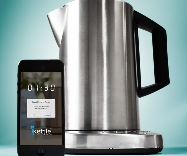 iKettle Can be Controlled over Wi-Fi: Steam Signals