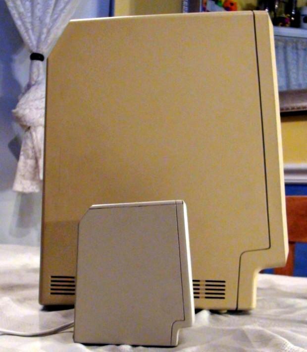 Tiny Apple Macintosh
