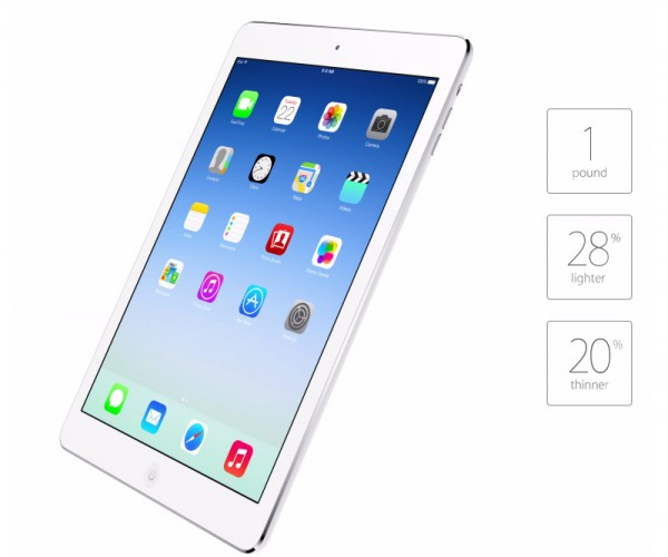 iPad Air (iPad 5) Price, Release Date and Specs Announced