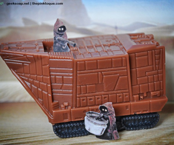Jawa Sandcrawler Soap: Fortress of Cleanliness