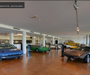 Explore the Lamborghini Museum Using Google Maps